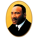 Beistle 25 Martin Luther King Cutout