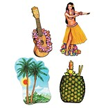 Beistle 12/Pack 17-20 Luau Cutouts