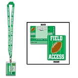 Beistle Game Day Football Party Pass