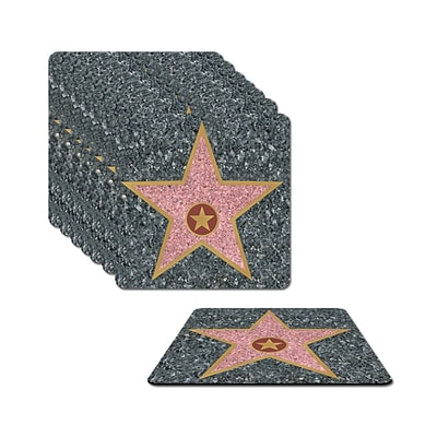 Beistle 3 1/2 Star Coasters; 32/Pack