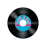 Beistle 3 1/2 Rock & Roll Record Coaster