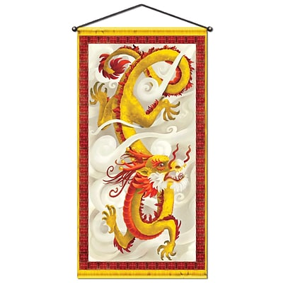 Beistle 30 x 5 Dragon Door/Wall Panel; 2/Pack