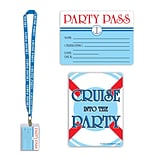 Beistle Cruise Ship Party Pass