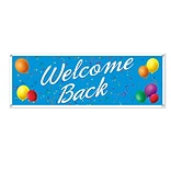Beistle 5x21 Welcome Back Sign Banner
