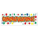 5x21 Congratulations! Sign Banner