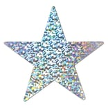 Beistle SIL 12 Prismatic Foil Star Cutout
