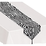 Beistle 11x6 Zebra Print Table Runner