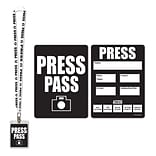 Beistle Press Party Pass