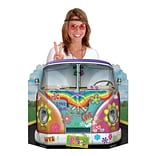 Beistle 3 1x25 Hippie Bus Photo Prop