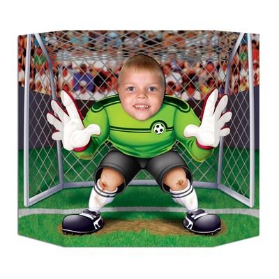 "Beistle 3' 1""x25"" Soccer Photo Prop"