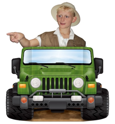 "Beistle 3' 1""x25"" Jungle Safari Photo Prop"
