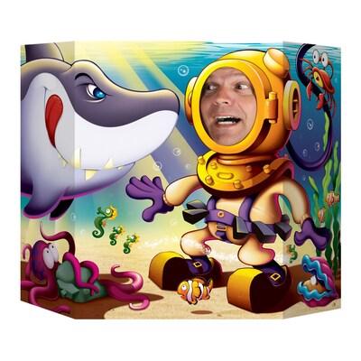 """Beistle 3' 1""""x25"""" Shark Photo Prop"""