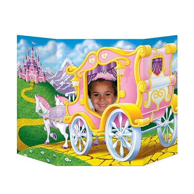 Beistle 3 1 x 25 Princess Photo Prop; 2/Pack