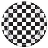 Beistle 9 Checkered Plates