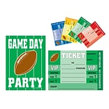 Beistle Game Day Football Invitations