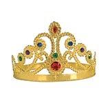Beistle Gold Jeweled Queens Tiara