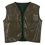 Beistle Faux Brown Cowboy Vest With Fringe