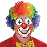 Beistle Rainbow Clown Wig
