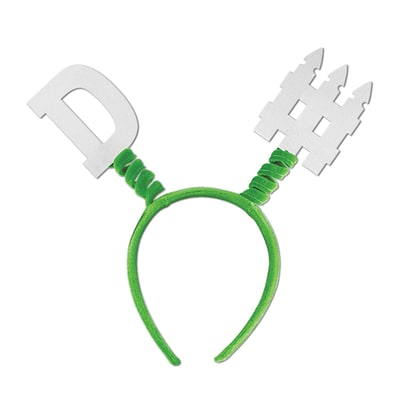 Beistle Adjustable D-Fence Boppers; Green/White