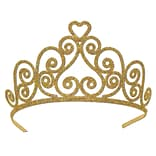 Beistle Gold Glittered Tiara