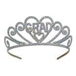 Beistle Silver Glittered Graduation Tiara