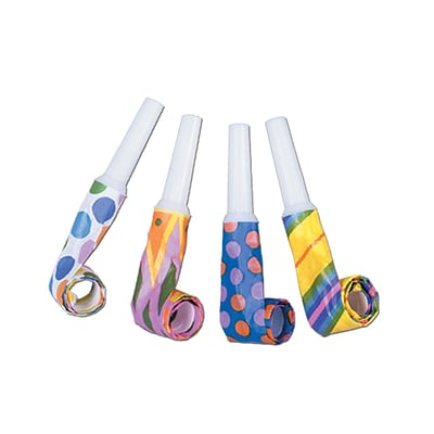 Beistle 16 Party Blowouts; 192/Pack
