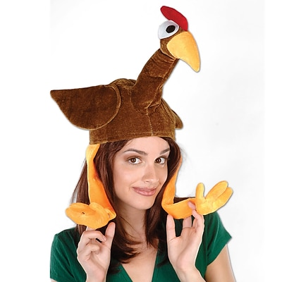 Beistle Plush Gobbler Hat, One Size