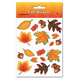 Beistle 4 3/4x7 1/2 Fall Leaf Sticker