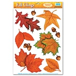 Beistle 12x17 Fall Leaf Clings