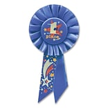 Beistle 3 1/4x6 1/2 1st Place Rosette