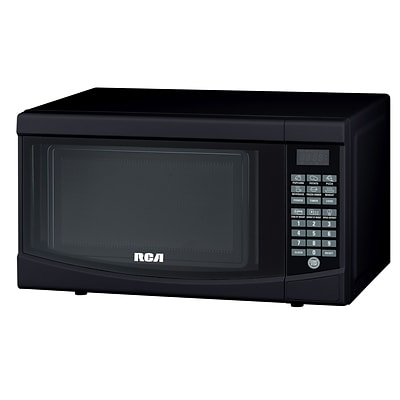 Curtis® RCA® 700 W Countertop Microwave Oven, Black