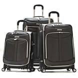 Luggage Melbourne Pick 3Pc Luggage Set, Blk