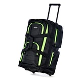 Polyester 8 Pocket Rolling Duffel Bag 22