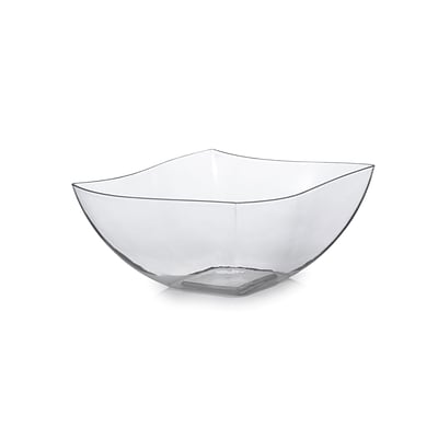 Tiny Temptations Plastic Serving Bowls Clear 16 Oz.