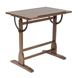 Studio Designs Solid Hard Wood Vintage Drafting Table, 36