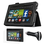 Mgear Accessories Kindle Fire HD 7 Folio Case with Screen Protector and Car Charger