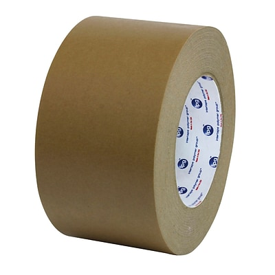 Intertape® Flatback Paper Carton Sealing & Splicing Tape, 2 wide, 60 yards long