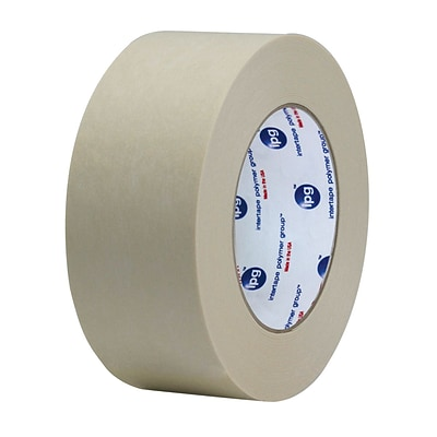 Intertape® 3 x 600 Convoy Medium Duty Gum Side In Paper Tape, White, 10 Roll