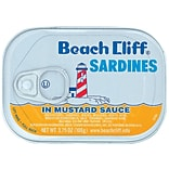 Beach Cliff Sardines in Mustard Sauce