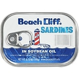 Sardines in Soybean Oil, 3.75 Oz Can