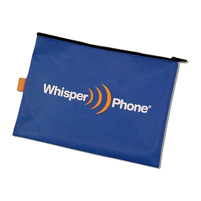 Harebrain WhisperPhone® Deluxe Nylon Storage Pouch For Solo® & Element® Single