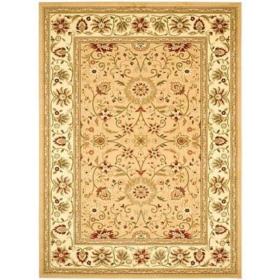 Safavieh Lyndhurst Collection Beige and Ivory Area Rug Polypropylene 6 x 9