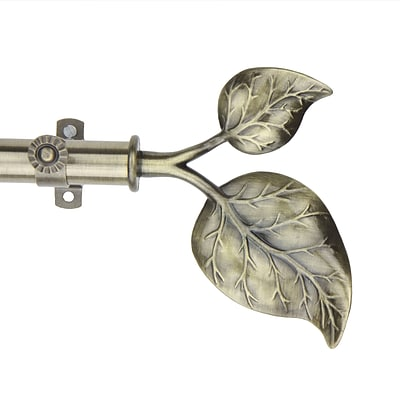 Rod Desyne Steel Modern Ivy Curtain Rod, 28 - 48