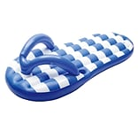 Swim Time™ 71 x 18 Flip Flop Inflatable Pool Float, Marine Blue