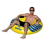 Swimline® River Rough 48 Heavy Duty Inflatable Tube, Yellow/Blue