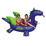 Swimline® Sea Dragon™ 9 Inflatable Giant Ride-On Pool Toy, Purple