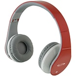 IAHB64R ilive Blue Red Bluetooth Headphones