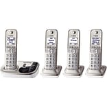 Panasonic Expandable Digital KX-TGD224N Cordless Answering System, 4 Handset System