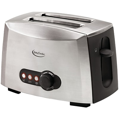Betty Crocker 2-Slice BC-1618C Toaster Stainless Steel