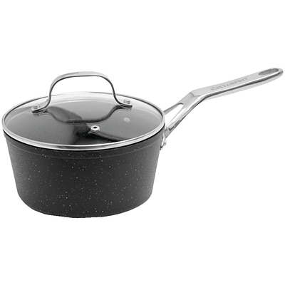 Starfrit® The Rock Saucepan With Glass Lid (2-quart)